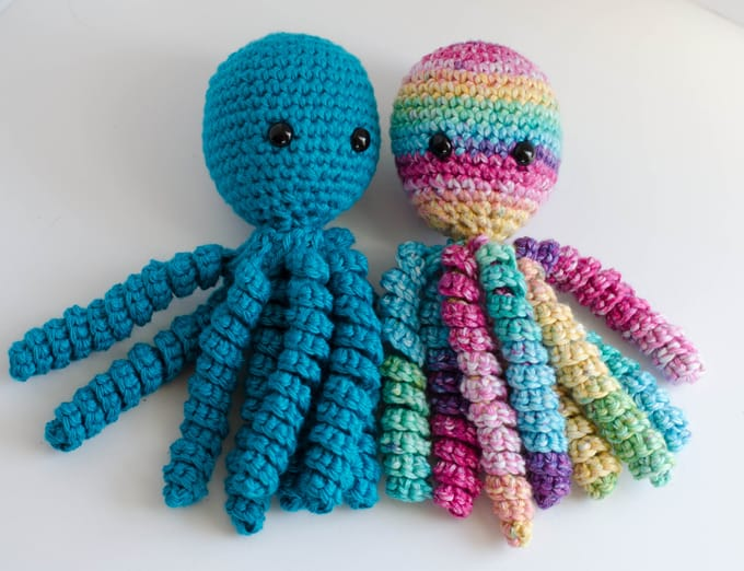 Knitting Pattern Octopus For Premature Babies : Crochet An Octopus For Preemies - Crochet 365 Knit Too