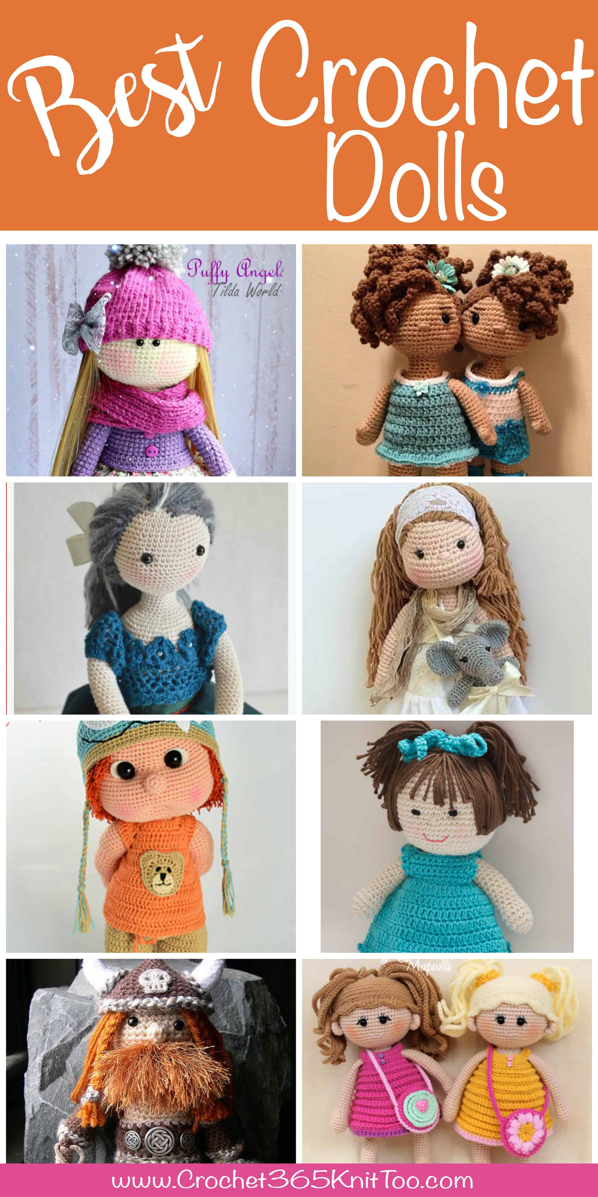Mia Doll In Colored Dress - Adorable Crochet Pattern From Havva ... | 4000x2000