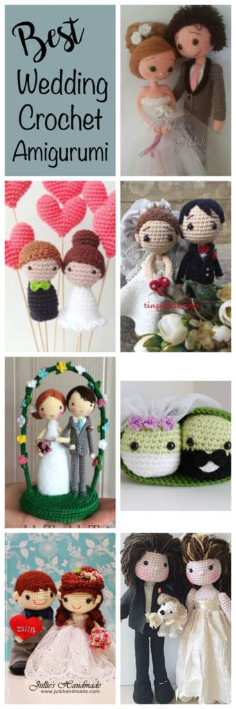 Crochet wedding amigurumi