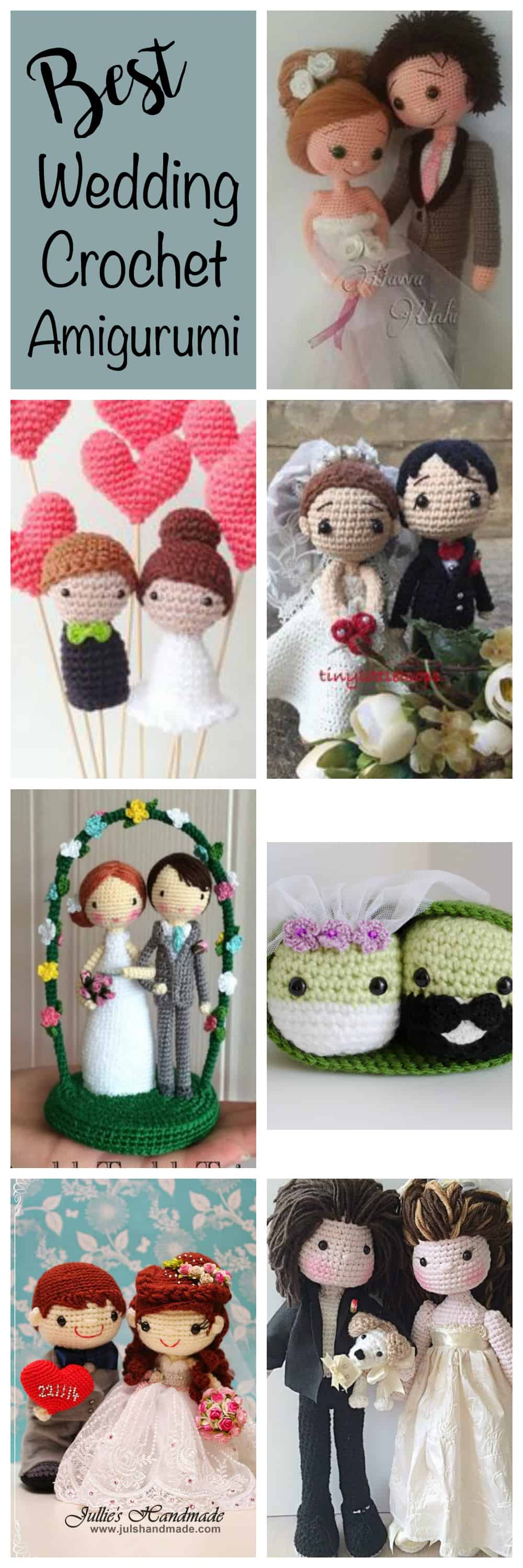 Amigurumi Wedding Cake Top (PDF Pattern) by Toma Creations… | Flickr | 3000x1000