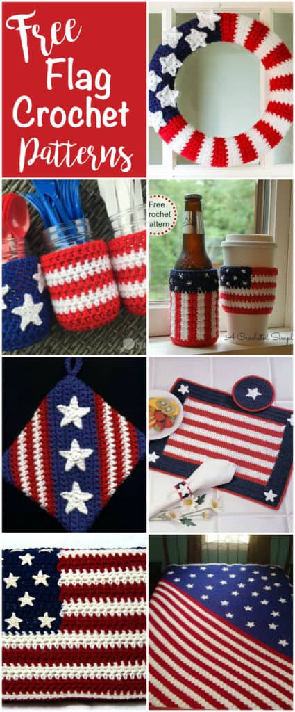 Free Crochet Flag Patterns