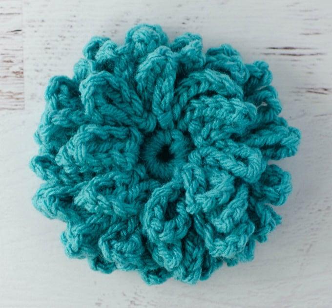 Crochet Loopy Flower