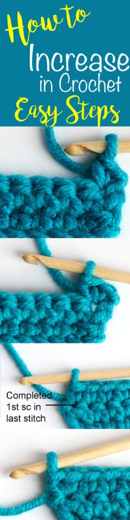 How to Increase in Crochet