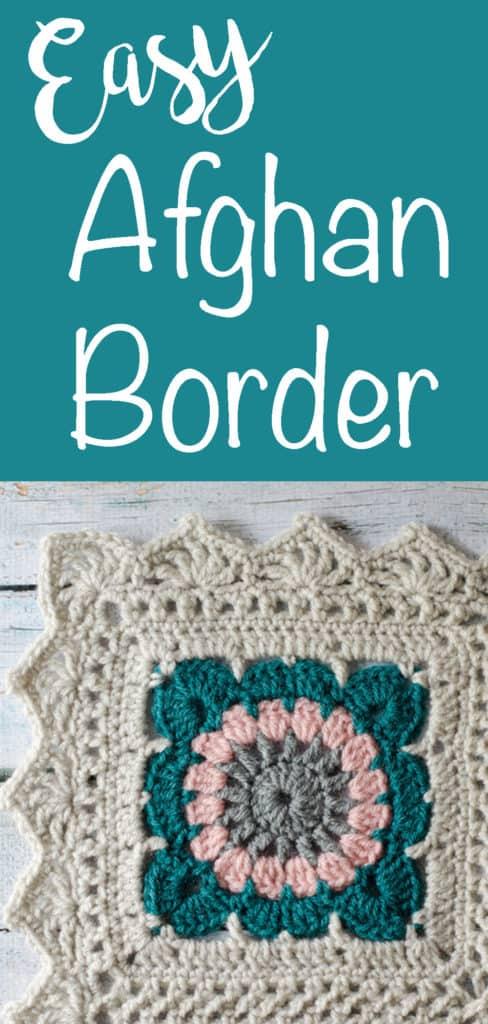 Crochet Afghan Border Happily Ever Afghan