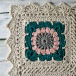 Crochet Border Happily Ever Afghan