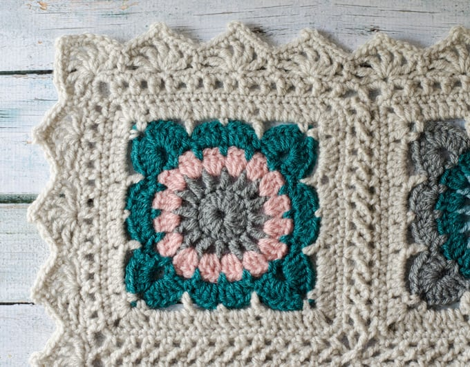 Happily Ever Afghan Crochet Border Crochet 365 Knit Too