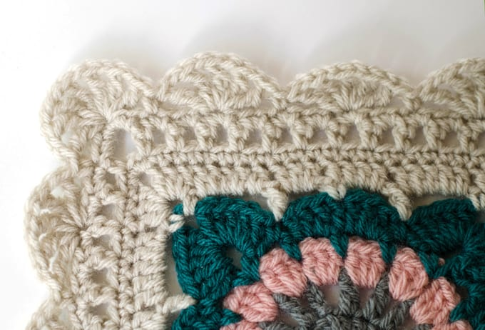 Crochet Afghan Border - Happily Ever Afghan