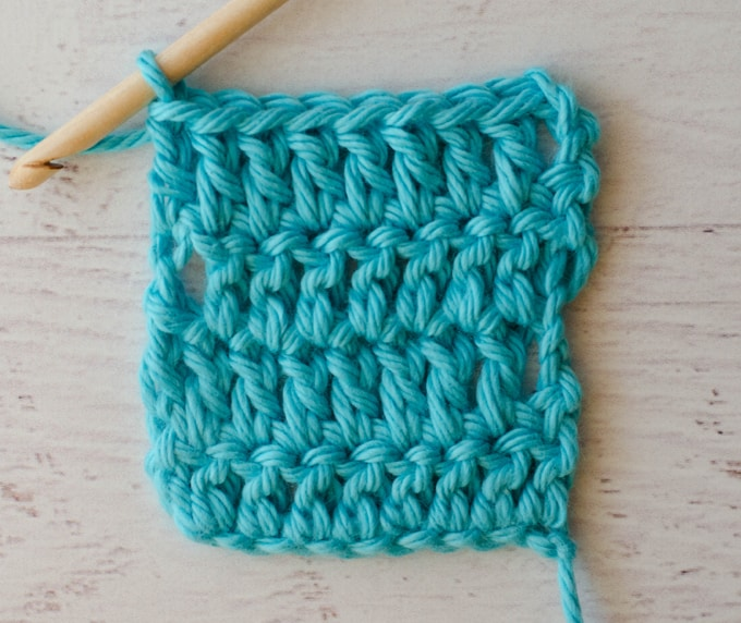 How to crochet Straight