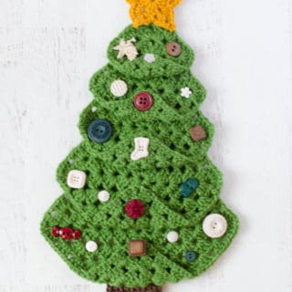 Granny Square Christmas Tree