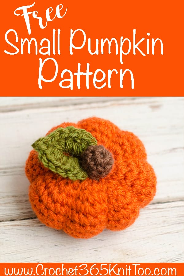 small pumpkin pattern
