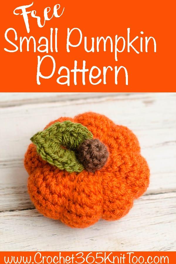 small pumpkin pattern