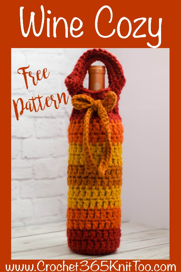wine cozy pattern