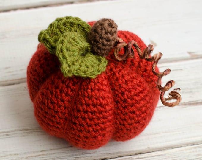 Medium Crochet Pumpkin Pattern Crochet 365 Knit Too