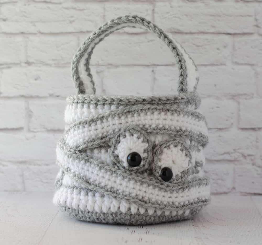 Crochet Mummy Bag