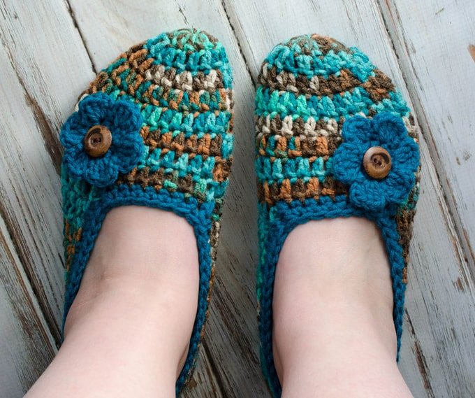 Not your Grandma's Crochet Slipper Pattern