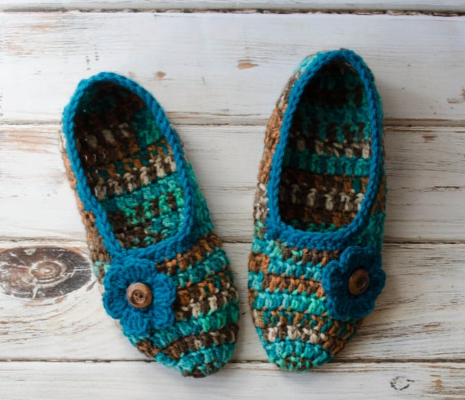 Not Your Grandmas Crochet Slippers Crochet 365 Knit Too