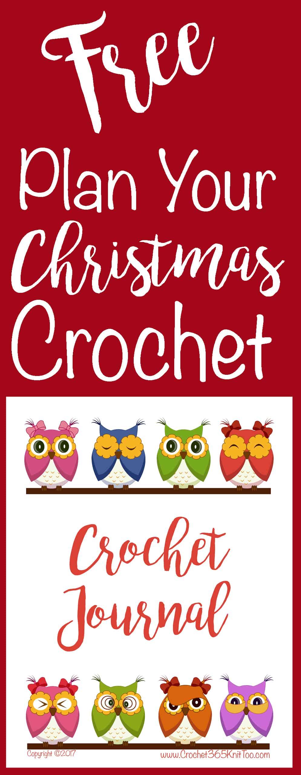 Free Crochet Planner