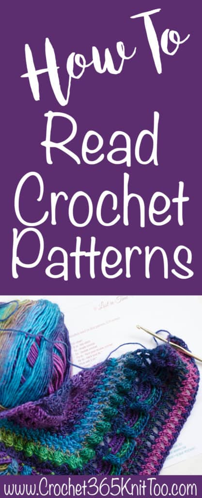 How To Read A Crochet Pattern Crochet 365 Knit Too