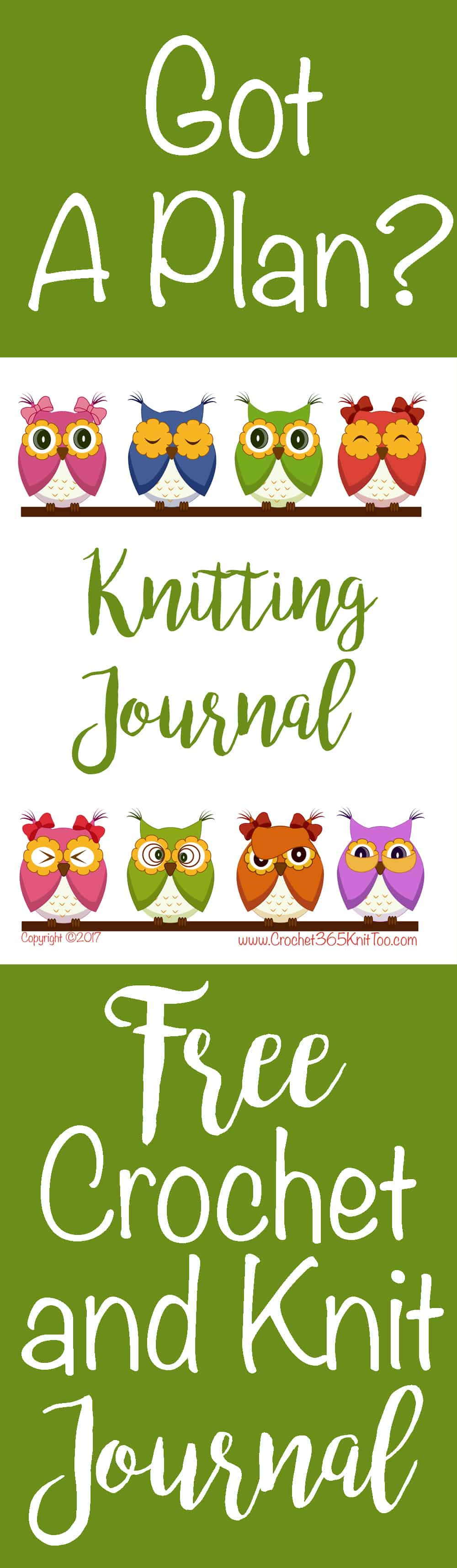 crochet and knitting journal