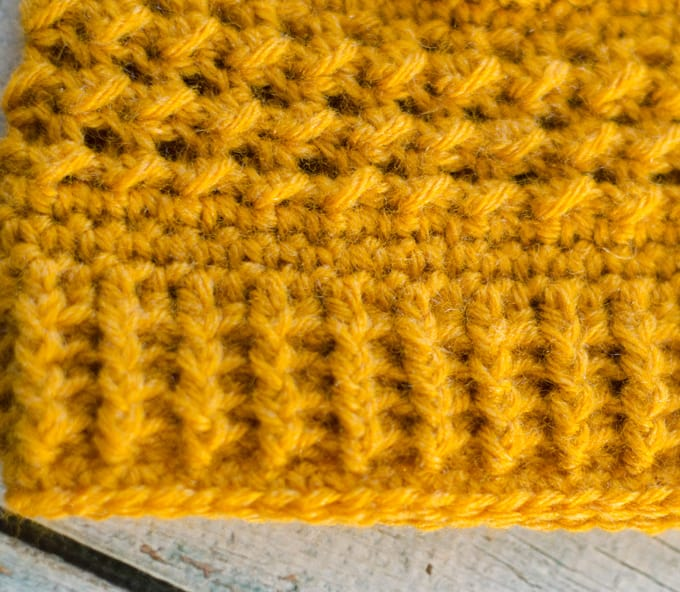 How to make a post stitch