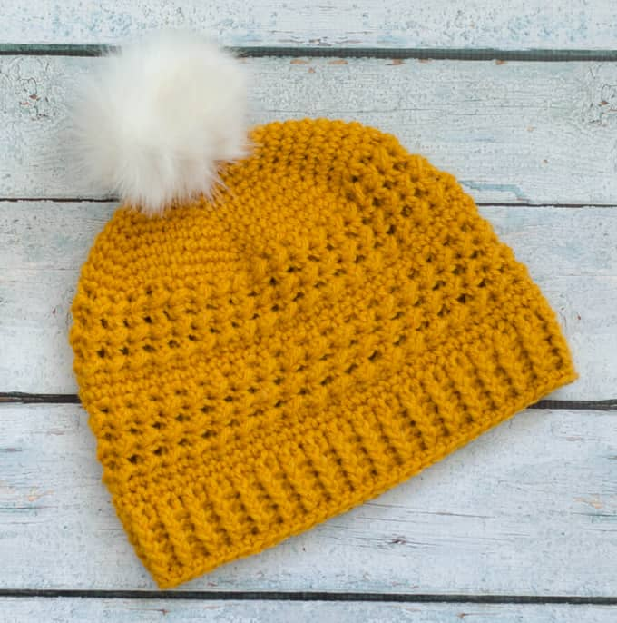 Great Lakes Beanie Crochet Pattern
