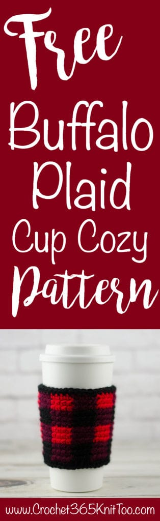 Buffalo Plaid Cup Cozy