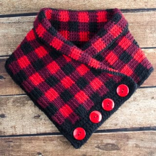 Buffalo Plaid Cowl