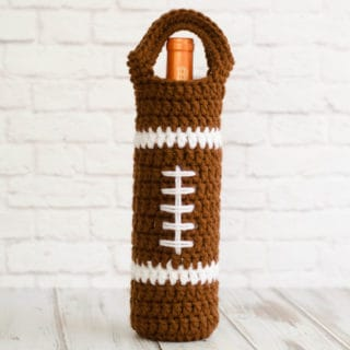 Football Wine Cozy