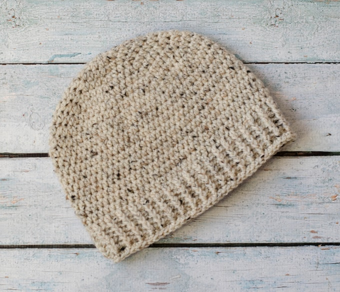 Salt Of The Earth Mens Crochet Beanie Crochet 365 Knit Too