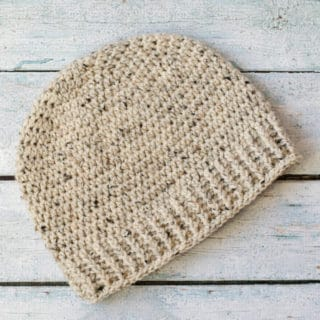 Salt of the Earth Men's Crochet Beanie
