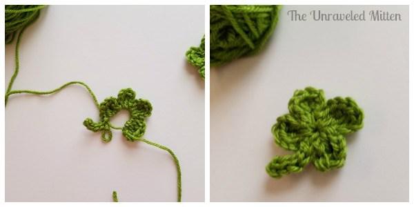 Shamrock crochet pattern