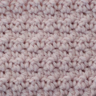 How to Crochet Soft Moss Stitch