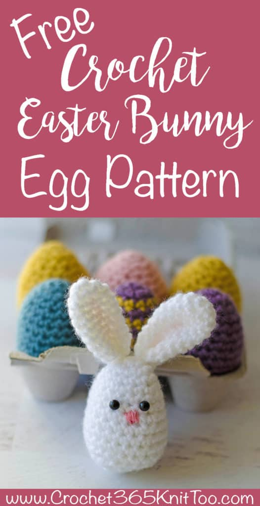 Easter Egg Bunny Pattern