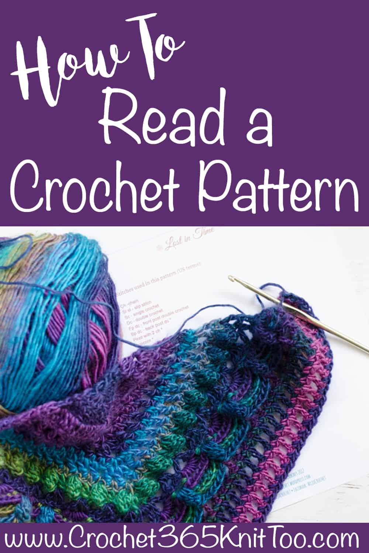 How To Read A Crochet Pattern Crochet 365 Knit Too