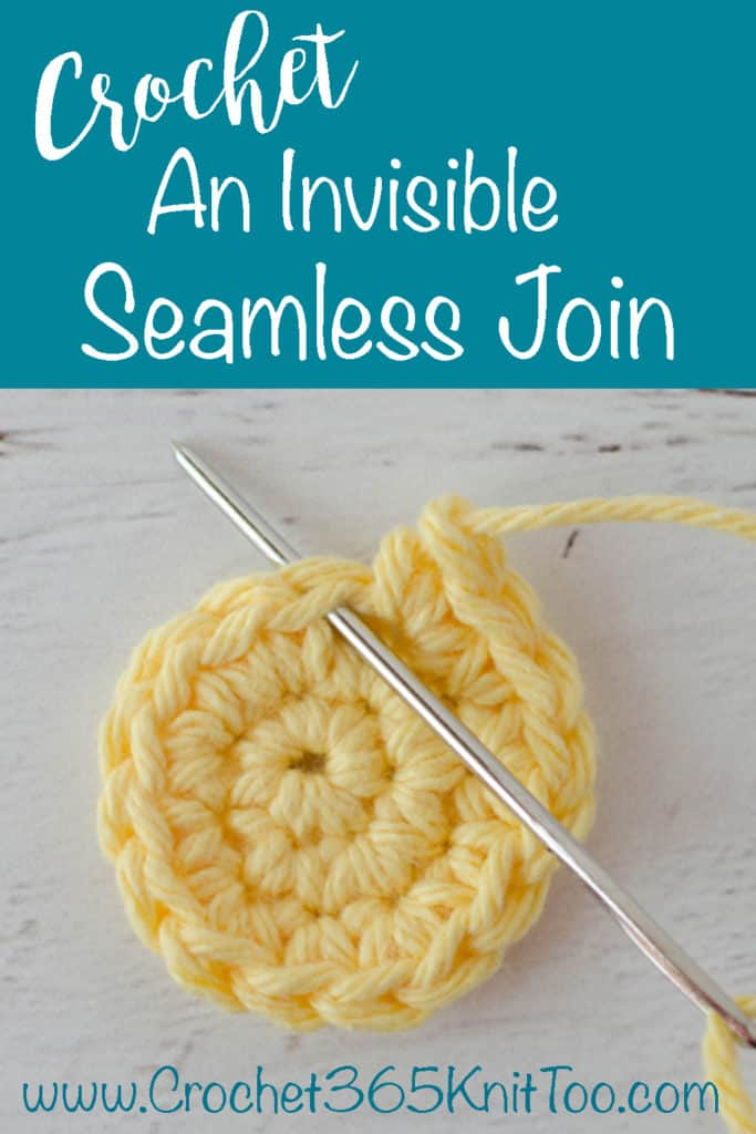 learn how to crochet an invisible seamless join