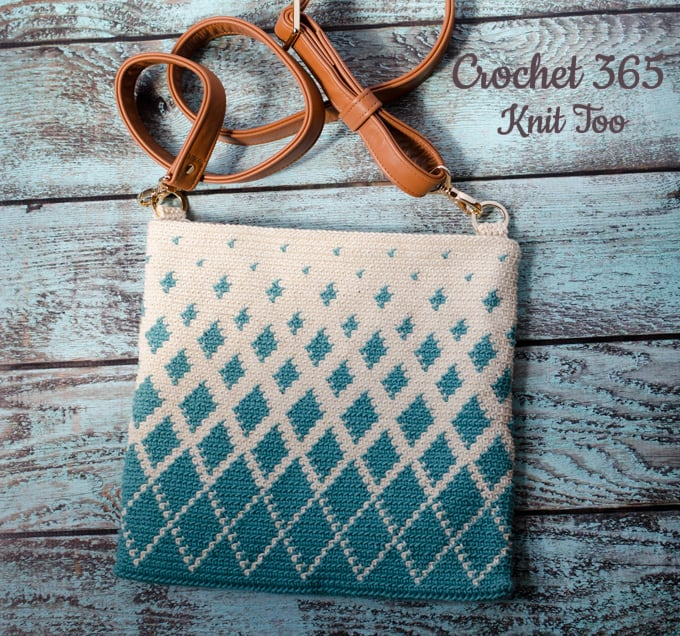 How to make a crochet Tapestry Bag
