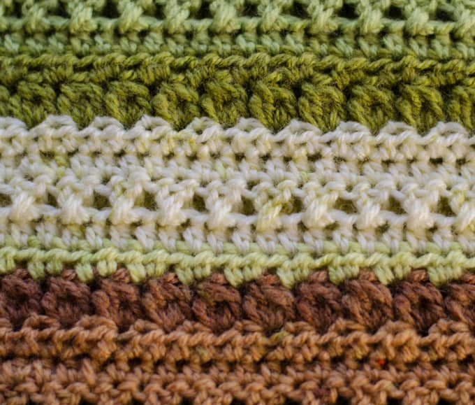 Fields and Furrows Crochet Afghan - Crochet 365 Knit Too