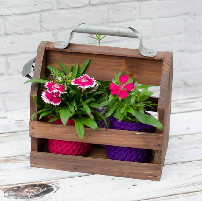 Crochet Flower Pot