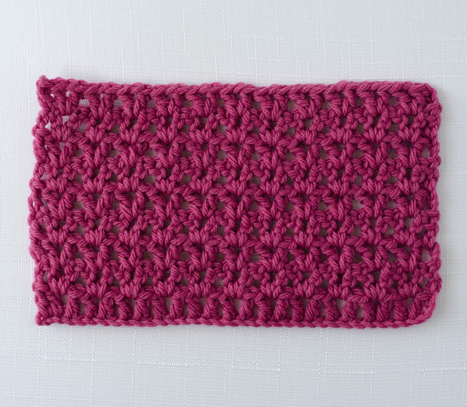 Crochet Rope Stitch