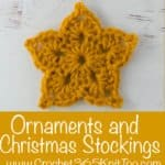 best crochet Christmas Stockings Best crochet ornaments
