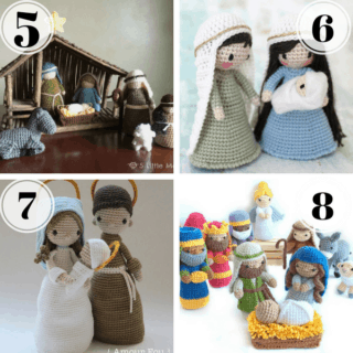 Christmas in July Part 3: Best Crochet Nativity Patterns