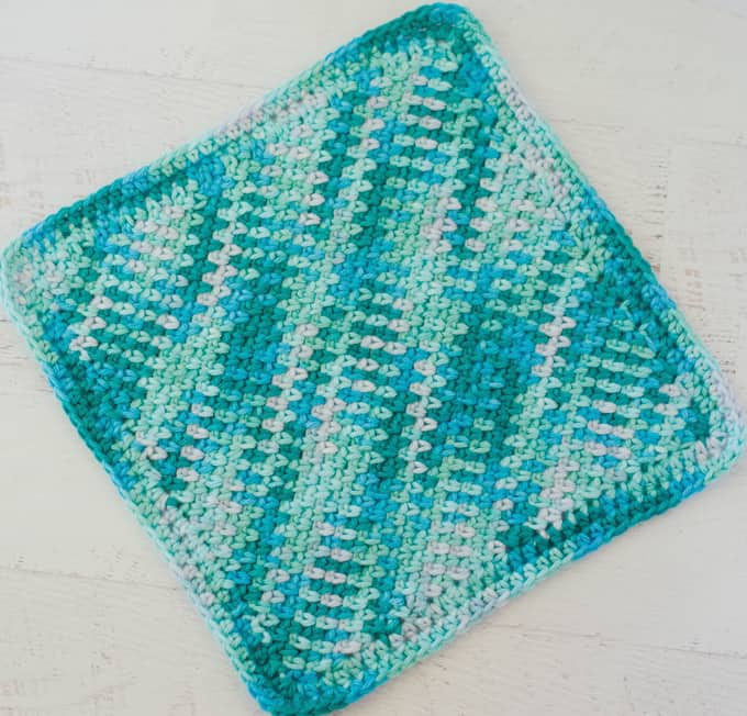 Seed Stitch Dish Cloth