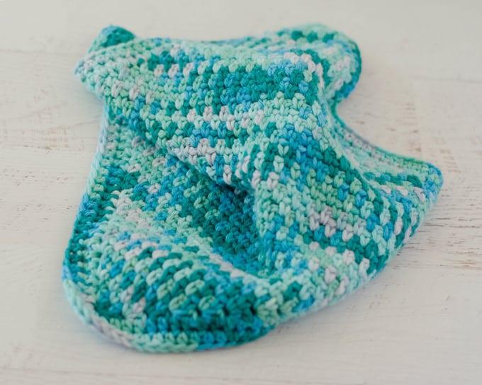 Seed Stitch Dish Cloth