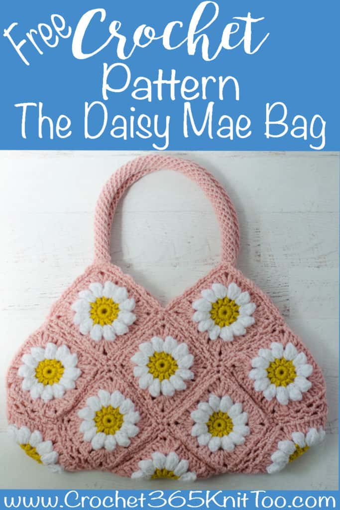 Crochet Puff Daisy Square
