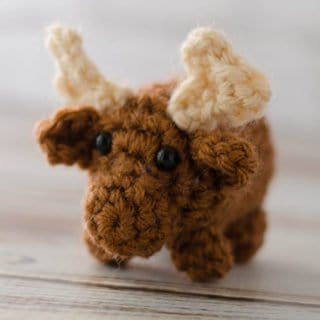 Crochet Moose – A Bitty Bumble