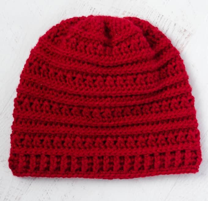 Buckeye Beanie Crochet Hat
