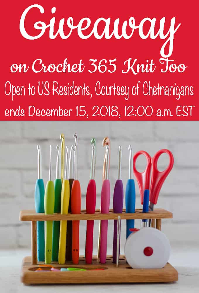 Chetnanigans Crochet Hook Caddy
