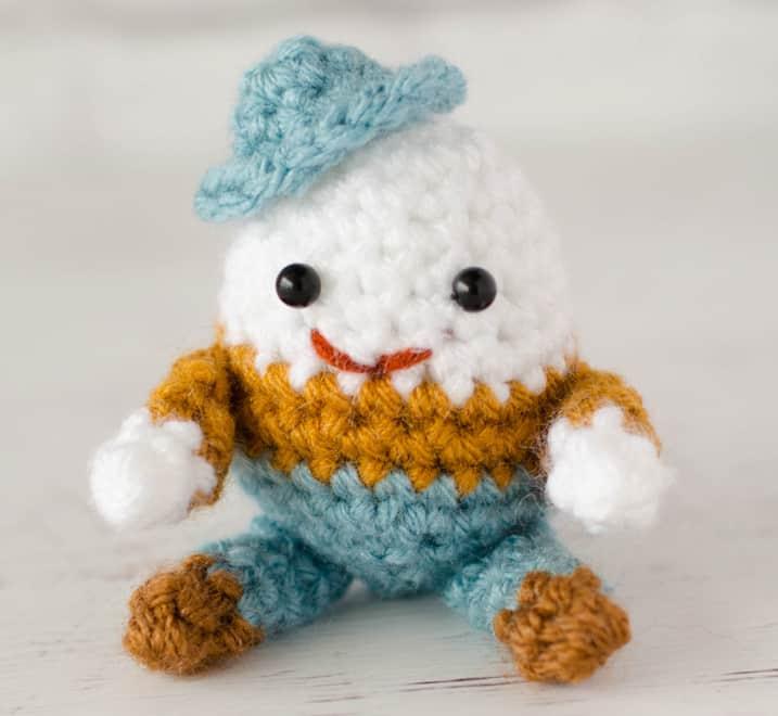 Crochet Humpty Dumpty