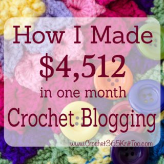 Make Money Crochet Blogging