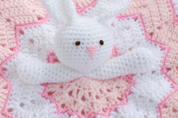 Crochet Lovey Blanket